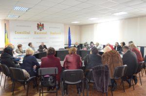 Ședinţa din cadrul Consiliului raional