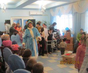 DASPF Dondușeni dăruiește bucurii la copii.