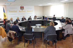 Ședința Comisiei raionale cu privire la securitatea vieții și sănătății copiilor/tinerilor din raion