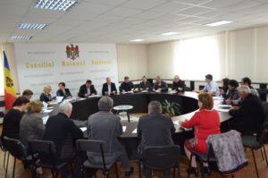 Colegiul consultativ în şedinţă