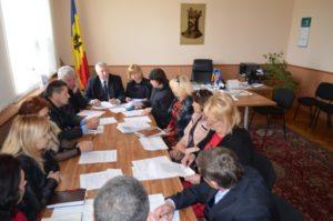 La şedinţa Fondului local de susţinere socială a populaţiei