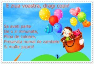 Mesajul de felicitare al Președintelui raionului cu sărbătoarea copiilor ,1 iunie