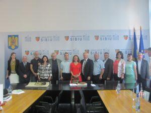 Acorduri de înfrăţire între comunităţile din judeţul Sibiu şi raionul Donduşeni