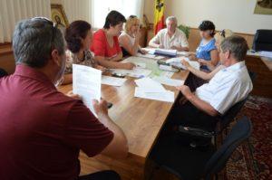 Şedinţa Fondului de susţinere socială a populaţiei