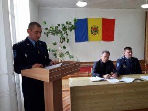 Ședinta de dare de seama a Secției Situații Exepționale Dondușeni pe parcursul a 9 luni ale anului 2017