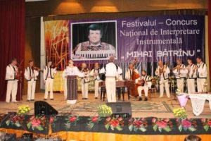 """Festivalul-concurs naţional de interpretare instrumentală """"Mihai Bătrînu"""""""