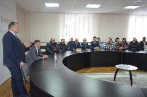 Întîlnirea cu Domnul Iurie Ușurelu Secretarul general de Stat al Ministerului Agriculturii Regionale și Mediului