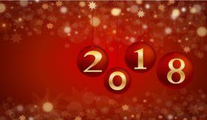 Mesaj de felicitare cu ocazia Anului Nou 2018.