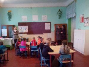 Şef DÎ Donduşeni în vizită de lucru la gimnaziul –grădiniţă Rediul Mare
