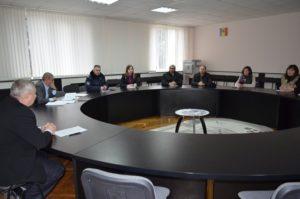 Ședința Consiliului raional intern în domeniul diasporei , migrației și dezvoltării.