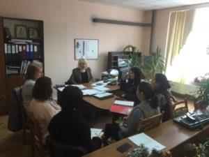 "Ședința de lucru DASPF Dondușeni cu reprezentanții AO ""CONCORDIA"""