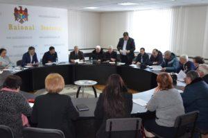 Ședința extraordinară a Consiliului Raional