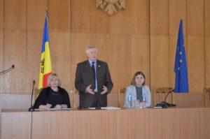 Vizita de lucru a dnei Nelea Rusu, secretar de Stat, Ministerul Sănătății, Muncii și Protecției Sociale