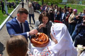 Vizita Ministrului Educației, Culturii și Cercetării, dna Monica Babuc în raionul Dondușeni