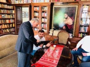 Vizită de lucru a dlui Vadim LESNIC, președinte al raionului Dondușeni în Polonia.