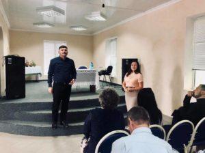 Președintele raionului Dondușeni, a început săptămâna curentă cu o vizită de lucru în s.Climăuți!