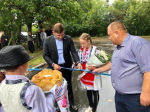 Inaugurarea drumului în s.Dondușeni