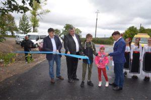Inaugurarea drumului în s.Pivniceni