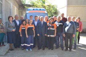 Transport sanitar nou pentru – Sudarca.