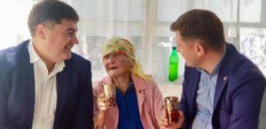 Omagiu de sănătate (jubileu de 102 ani)