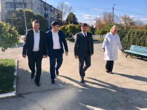 Ședință de lucru cu medicii IMSP – Spitalul raional Dondușeni