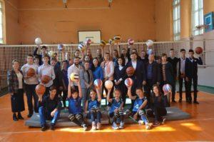 Fundația lui Vlad Plahotniuc ,,Edelweiss,, a dăruit LT ,,Alexei Mateevici,, din or.Dondușeni inventarul sportiv de care avea nevoie.
