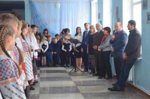 Darea în exploatare a cazangeriei de la LT ,,Mihai Eminescu din c.Sudarca.