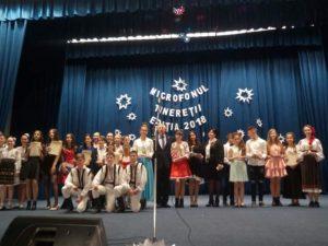 """Festivalul – Concurs raional de interpretare vocală """"Microfonul Tinereţii"""" ediţia 2018"""