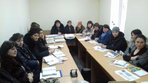Seminar de instruire continuă cu asistenții sociali comunitari din Dondușeni