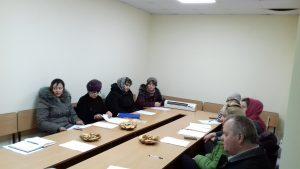Ședința de supervizare cu asistenții parentali profesioniști din Dondușeni