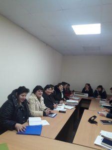 Seminar de instruire continuă cu asistenții sociali comunitari la Dondușeni