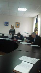 Ședința Comisiei pentru protecție copilului aflat în dificultate la Dondușeni