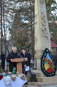 Comemorarea eroilor căzuţi în conflictul armat din Transnistria