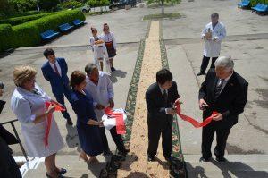 Vizita oficială a Ambasadorului Japoniei în Republica Moldova la Dondușeni