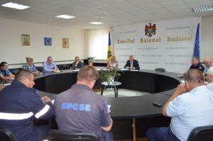 Ședința extraordinară a Comisiei pentru Situații Excepționale a raionului din 11.07.2019