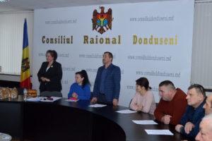Ședința extraordinară a Consiliului raional Dondușeni din 31 decembrie 2019