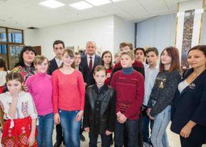 Copiii din Dondușeni în vizită la Președenție