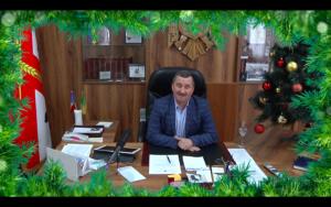 Mesajul de felicitare cu Anul Nou(2020) a Presedintelui raionului Donduseni dn. Valentin Cebotari.