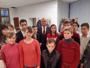 Cu prilejul sărbătorilor de iarnă, de către Președintele Republicii Moldova au fost felicitați 400 de copii
