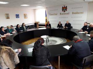 Ședință cu șefii serviciilor desconcentrate în raionul Dondușeni