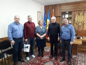Întâlnirea de lucru a președintelui raionului d-l Valentin Cebotari