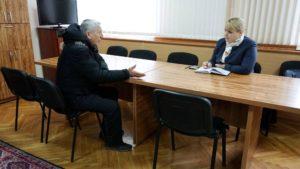 Primirea locuitorilor raionului de către Irina Lozovan Deputat