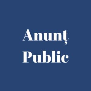 Anunț concurs pentru ocuparea funcției publice vacante de contabil-șef al primăriei Horodiște