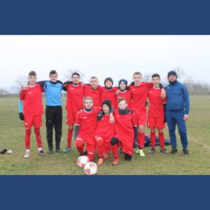 """La data de 28 noiembrie2020 în cadrul Campionatului Republican la fotbal, a fost discutat meciul între echipele Școlii Sportive Dondușeni și Școlii Sportive Drochia, U-15, divizia """"B-Nord""""."""