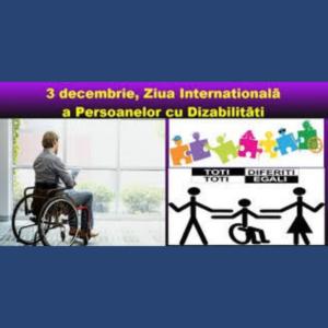 Ziua Internațională a persoanelor cu dizabilități