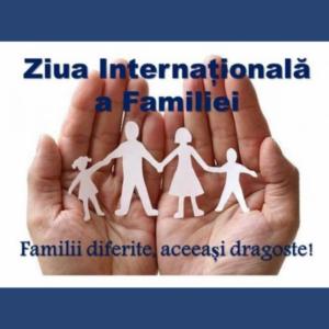 Mesaj de felicitare cu prilejul Zilei Internaționale a Familiei
