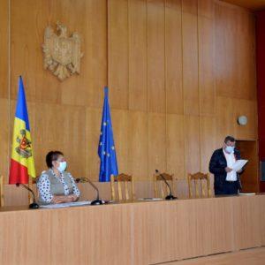 Ședința extraordinară a Consiliului raional Dondușeni