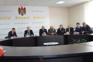 Întîlnirea de lucru cu viceministrul mediului, Igor Talmazan