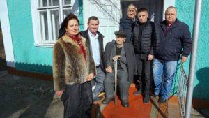 Mesaj de felicitare d-lui Cebotari Gherasim, care a atins vîrsta de 100 ani!
